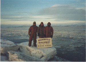Frozen Togiak Bay